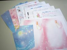新月の願い ピンクの紙 ピンクの月つきクラブ 会員用セット