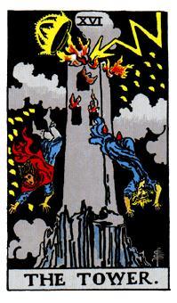 タワーのカード