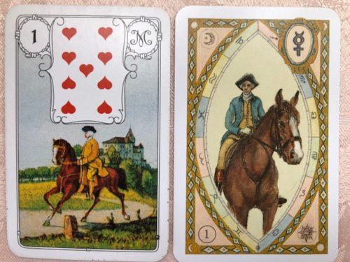 ルノルマンカード 1 騎士