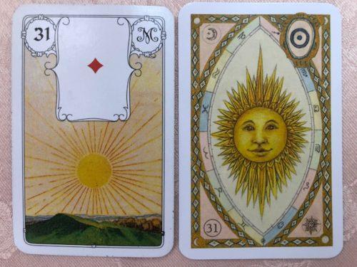 ルノルマンカード 31 太陽