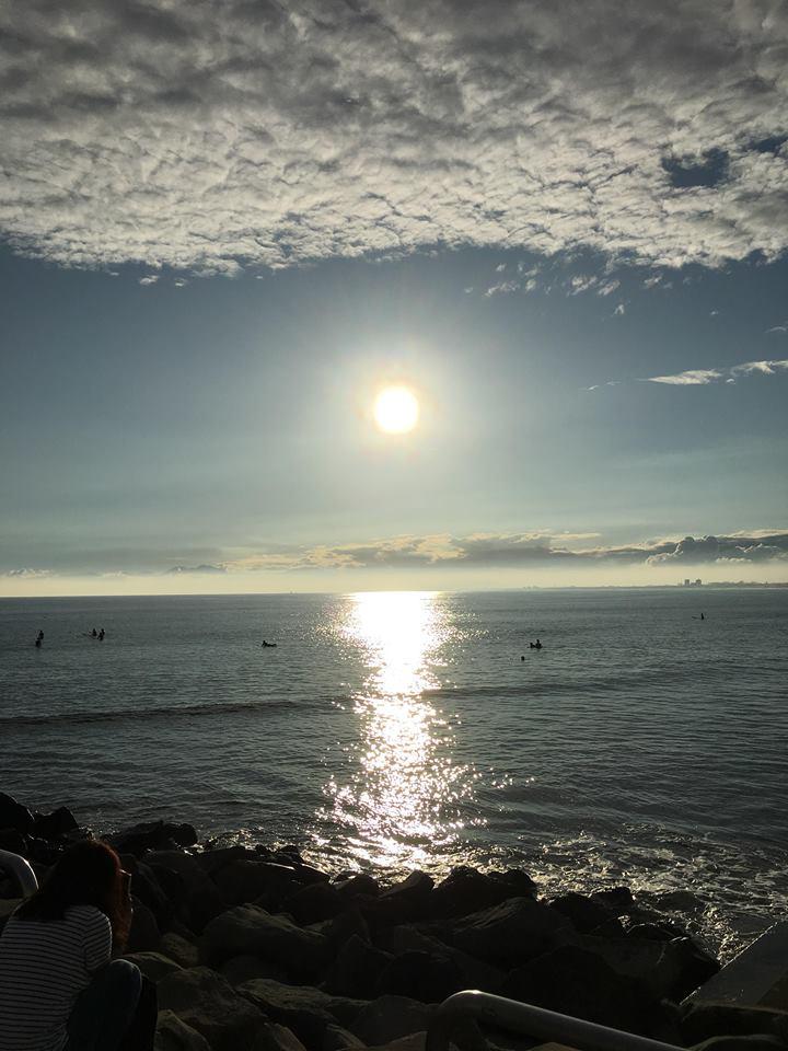 江の島 海