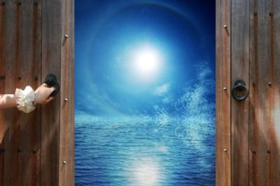 満月 新しい扉