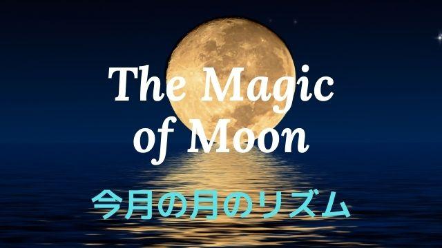 今月の月のリズム